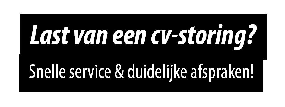 CV-ketel storing Voorhout