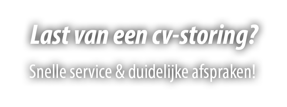 CV-ketel storing Amersfoort